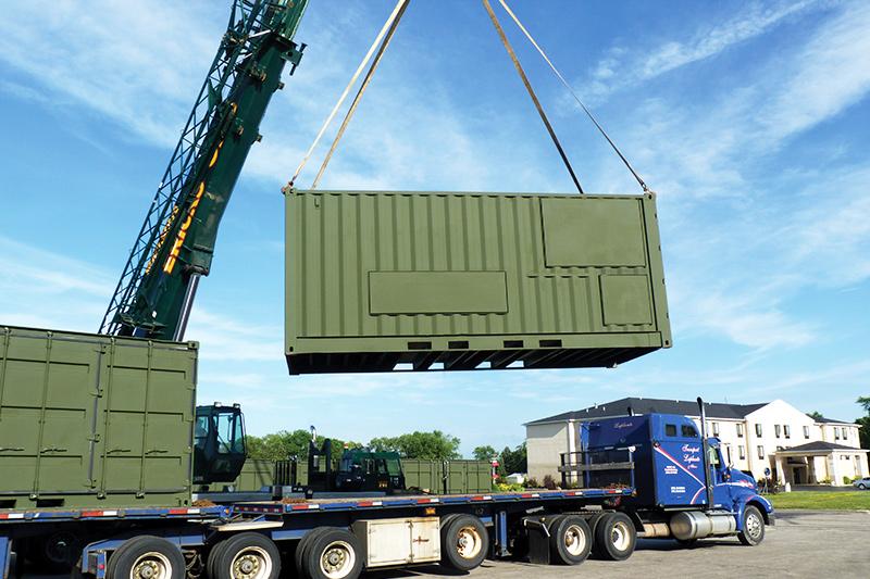 Deployable Vehicle Wash Rack